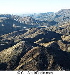 山, arizona., 範囲