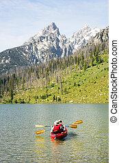 山, kayaking