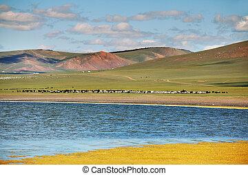 山, mongolia