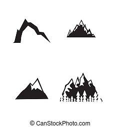 山, set., アイコン