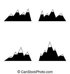 山, set., 圖象