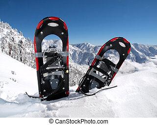 山, snowshoe