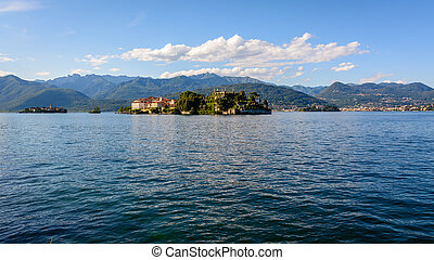 岛, maggiore, 湖, 二