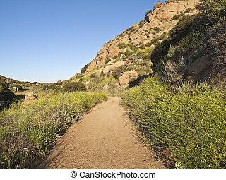 岩が多い, 公園, アンジェルという名前の人たち, los, カリフォルニア, ピークに達しなさい