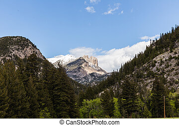 岩石的山, 在, montana