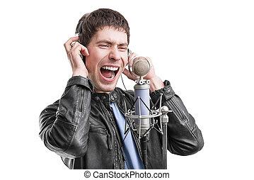 岩, 歌手, screaming.