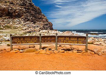 岬, よい, アフリカ, 南, 希望