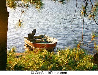 岸, 漁船