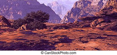 峡谷, ユタ, 風景