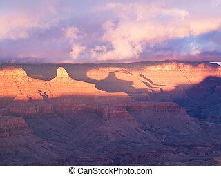 峡谷, 公園, 壮大, 国民