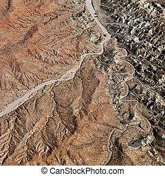 峡谷, 壮大, aerial.
