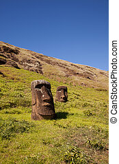 島, イースター, 彫像