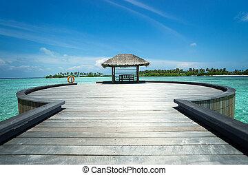 島, 停泊處