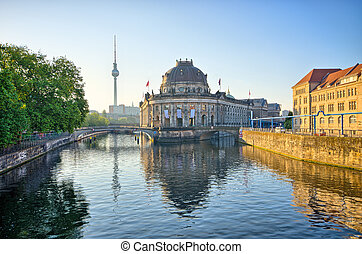 島, 博物館, ドイツ, ベルリン
