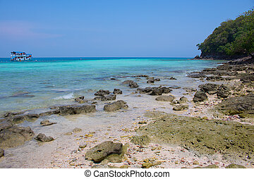 島, 浜, タイ