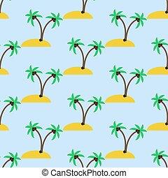 島, 砂漠, パターン