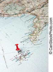 島, capri, 地図