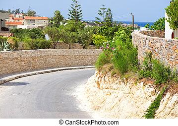 島, crete, 道