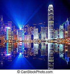 島, hong, kowloon, kong