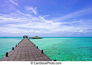 島, kapalai, リゾート