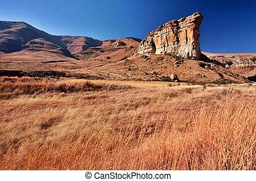 崖, 砂岩