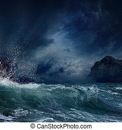 嵐である, 海