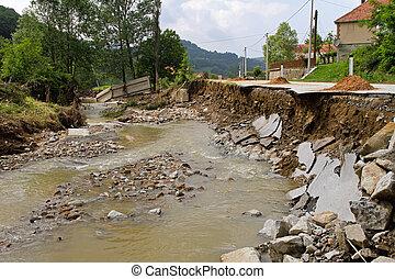 川, 破壊