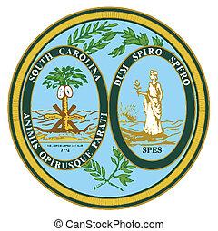 州, カロライナ, 南, シール