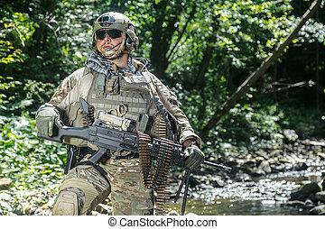 州, レーンジャー, 合併した, 軍隊
