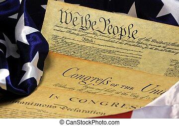 州, 合併した, 憲法