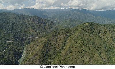 州, 山, フィリピン。