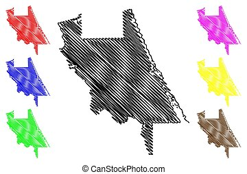 州, us), 郡, (u.s., 地図, アメリカ, 合併した, アメリカ, 落書き, u.。s.。, volusia...