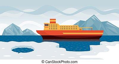 巡航, 北極である
