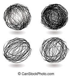 巣, 落書き, 変化