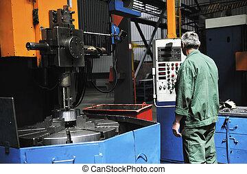 工人, 人在, 工廠