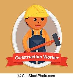 工人, 建设, 象征
