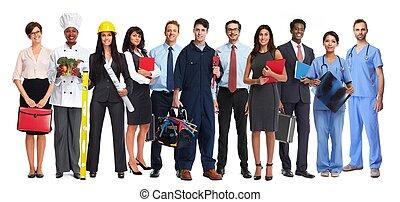 工人, 組, 人們