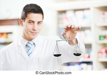 工人, 藥房, 二, 化學家, 藥房