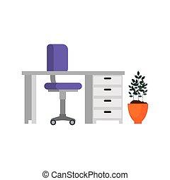 工作地點, 場景, 辦公室 像