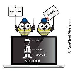 工作, 是, 安全