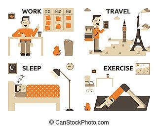 工作, 生活, 平衡