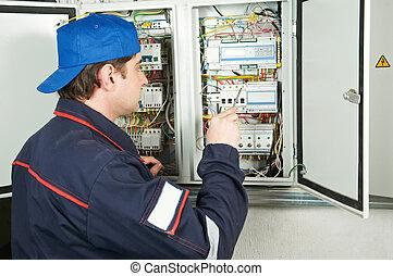 工作, 電工