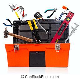 工具箱, 由于, 工具