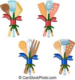 工具, 圣诞节, 厨房