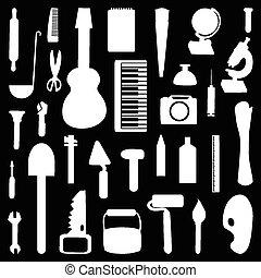 工具, 放置