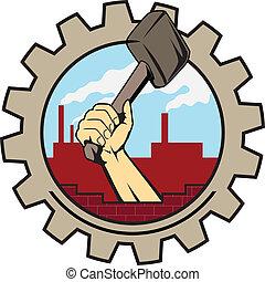 工厂, 图标