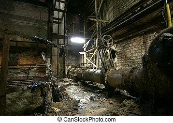 工厂, 老, 放弃