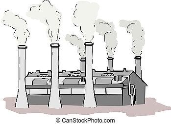 工場, アイコン