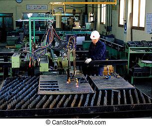 工場, 光景