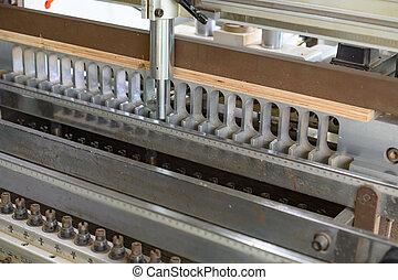 工場, 合板, 機械, 処理